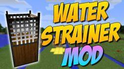 Water Strainer Mod Logo