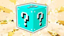 Lucky Block Blue Mod