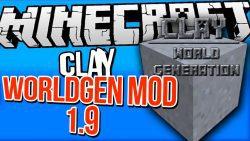 Clay WorldGen Mod