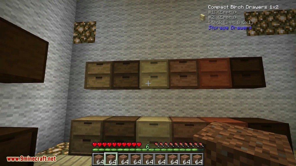 Storage Drawers Mod Screenshots 3