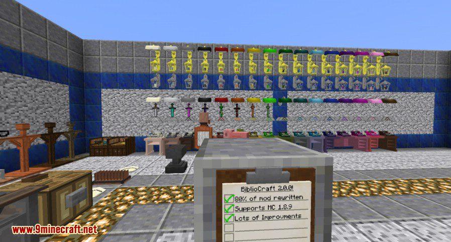 BiblioCraft Mod Screenshots 1