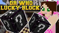 Doctor Who Lucky Block Mod
