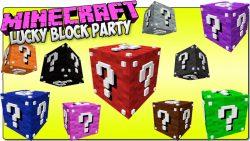 Lucky Block Party Mod