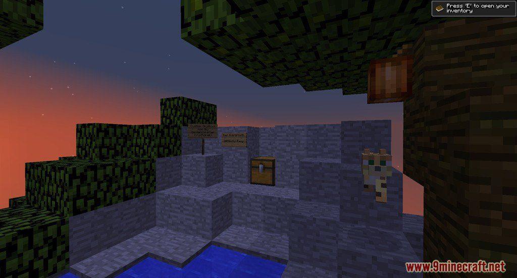 Nine Islands Skyblock Map Screenshots 1