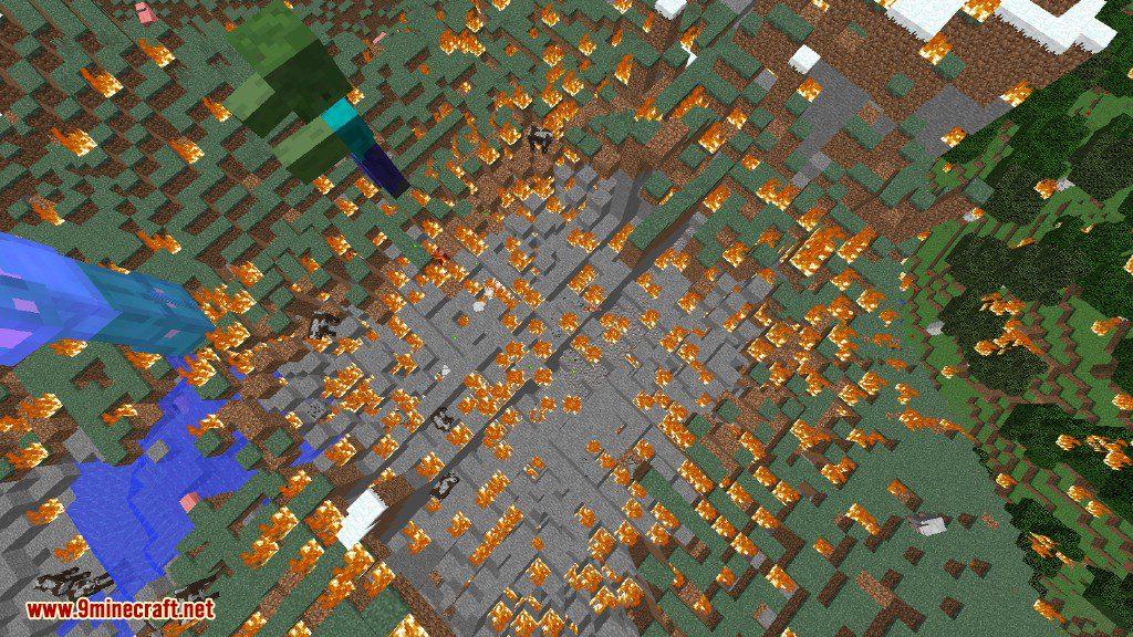Creeper Lucky Block Mod Screenshots 1