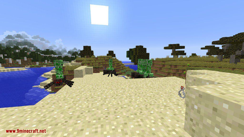 Creeper Lucky Block Mod Screenshots 11