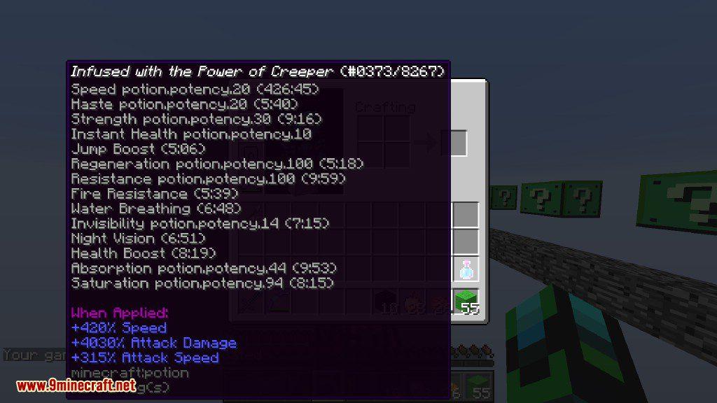 Creeper Lucky Block Mod Screenshots 23