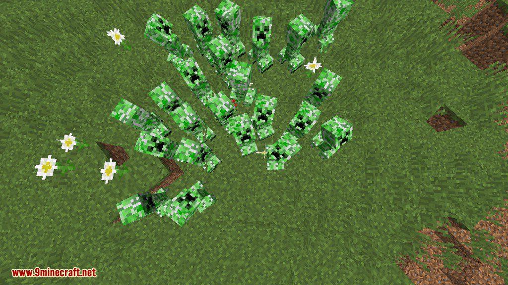 Creeper Lucky Block Mod Screenshots 3