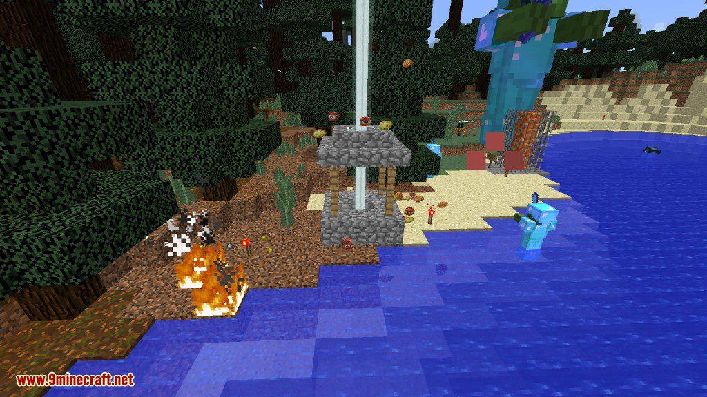 Creeper Lucky Block Mod Screenshots 8