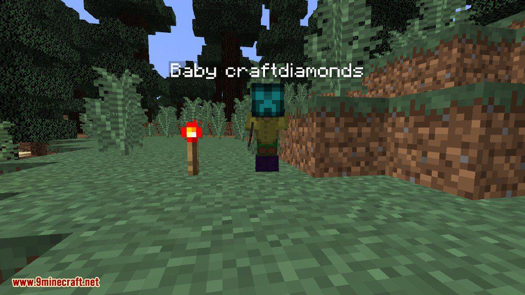 Creeper Lucky Block Mod Screenshots 9
