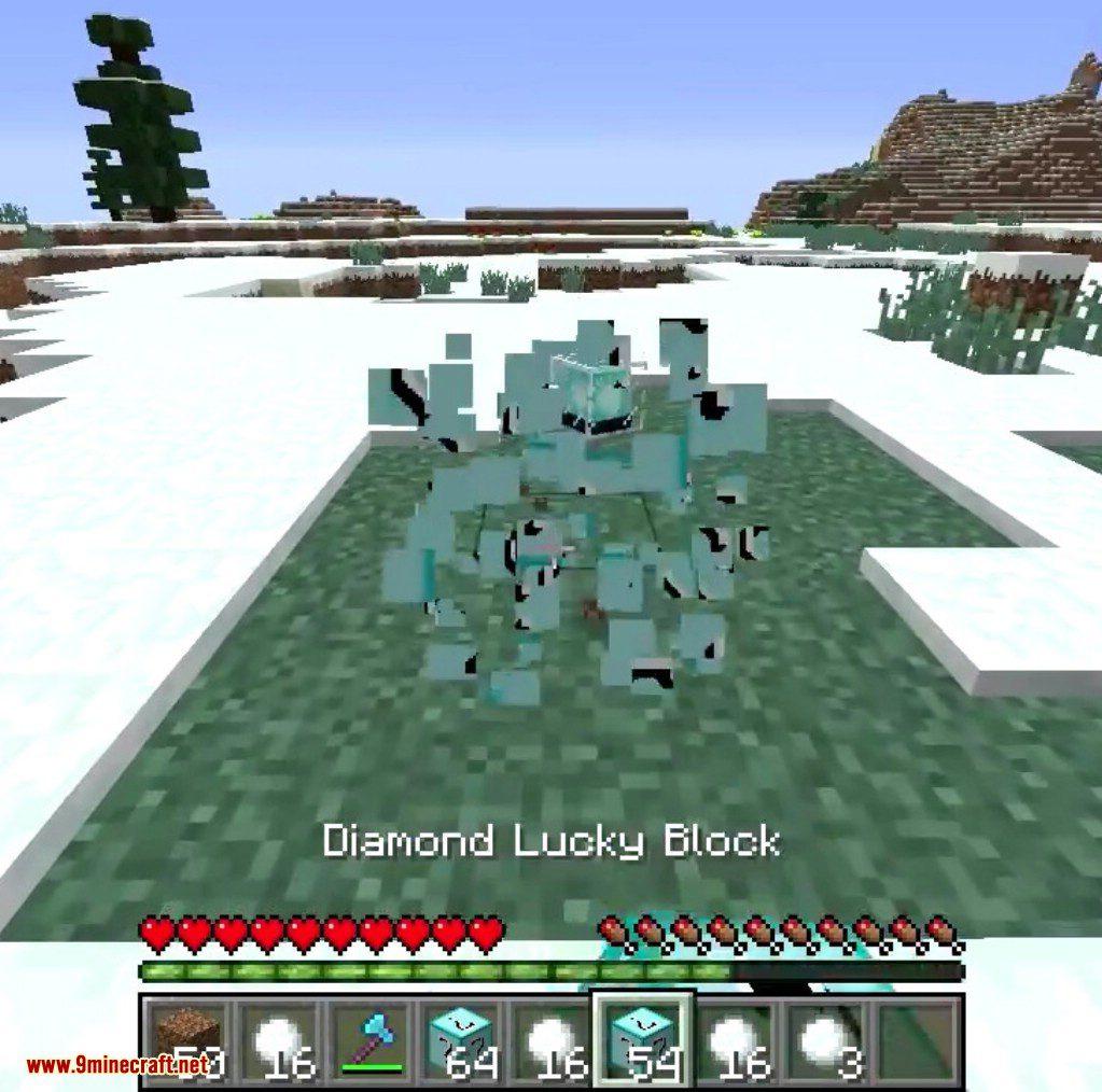 Diamond Lucky Block Mod Screenshots 5