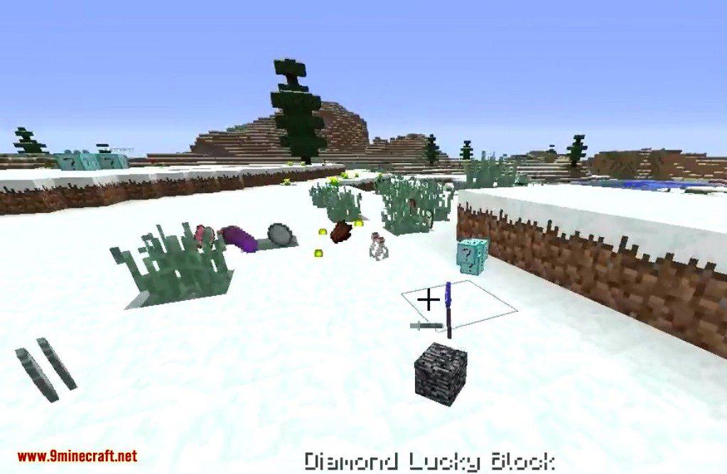 Diamond Lucky Block Mod Screenshots 9