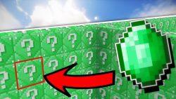 Emerald Lucky Block Mod