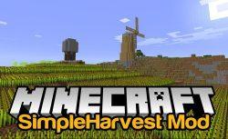 SimpleHarvest Mod