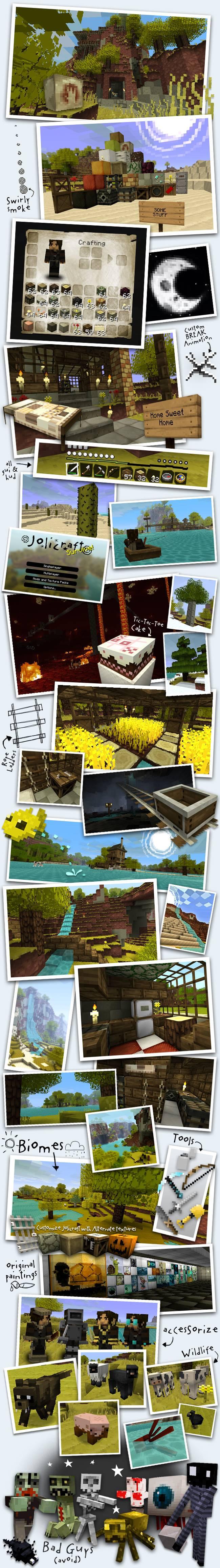 JoliCraft Resource Pack Screenshots 1