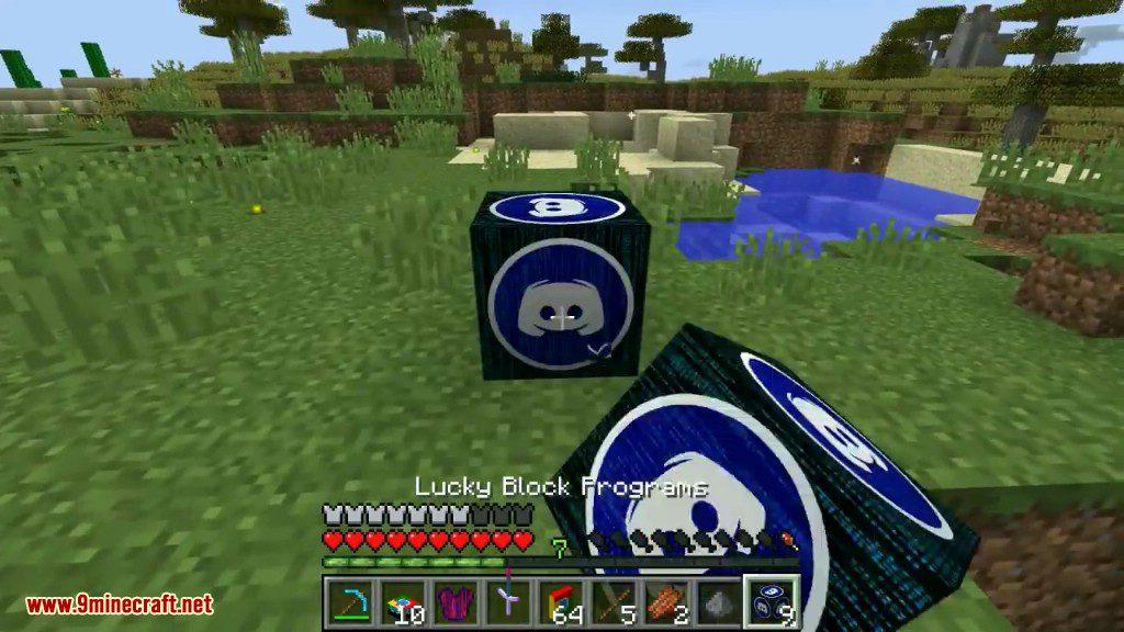 Programs Lucky Block Mod Screenshots 13