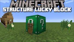 Structure Lucky Block Mod