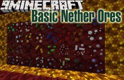 Basic Nether Ores Mod