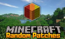 RandomPatches mod for minecraft logo