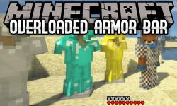Overloaded Armor Bar mod for minecraft logo