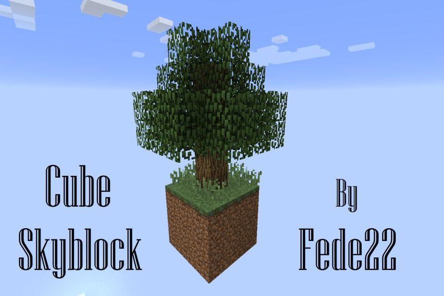 Cube Skyblock Map Thumbnail