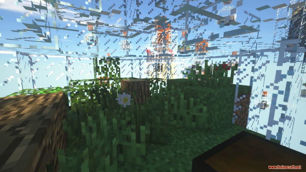 Glass Bottle Skyblock Survival Map Screenshots (1)