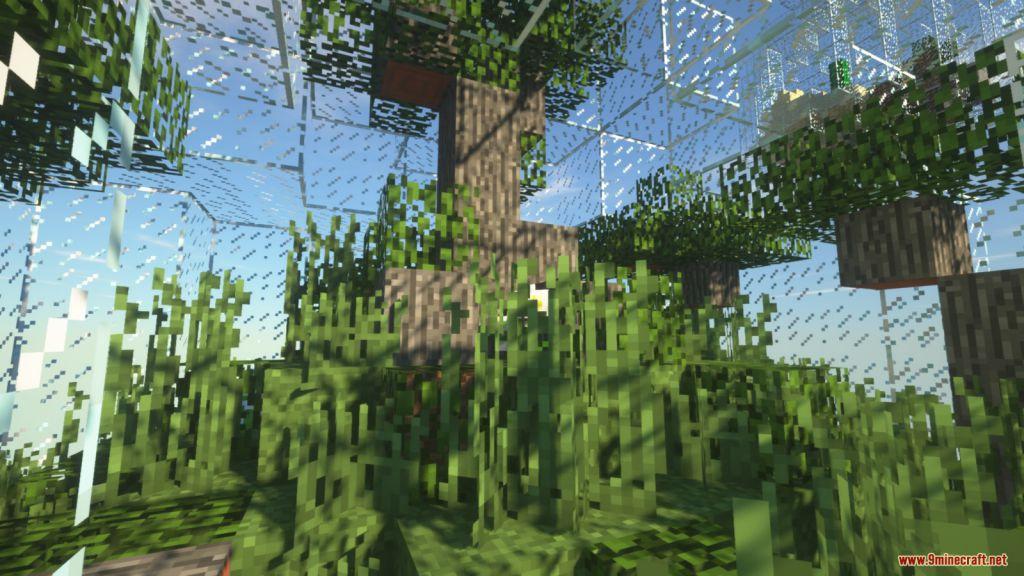 Glass Bottle Skyblock Survival Map Screenshots (10)