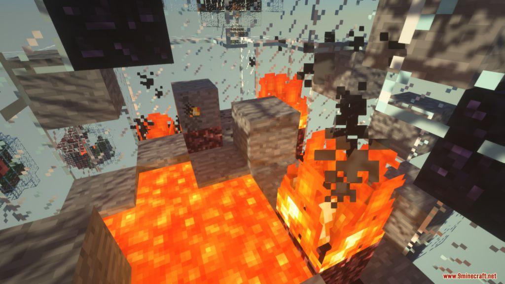 Glass Bottle Skyblock Survival Map Screenshots (12)