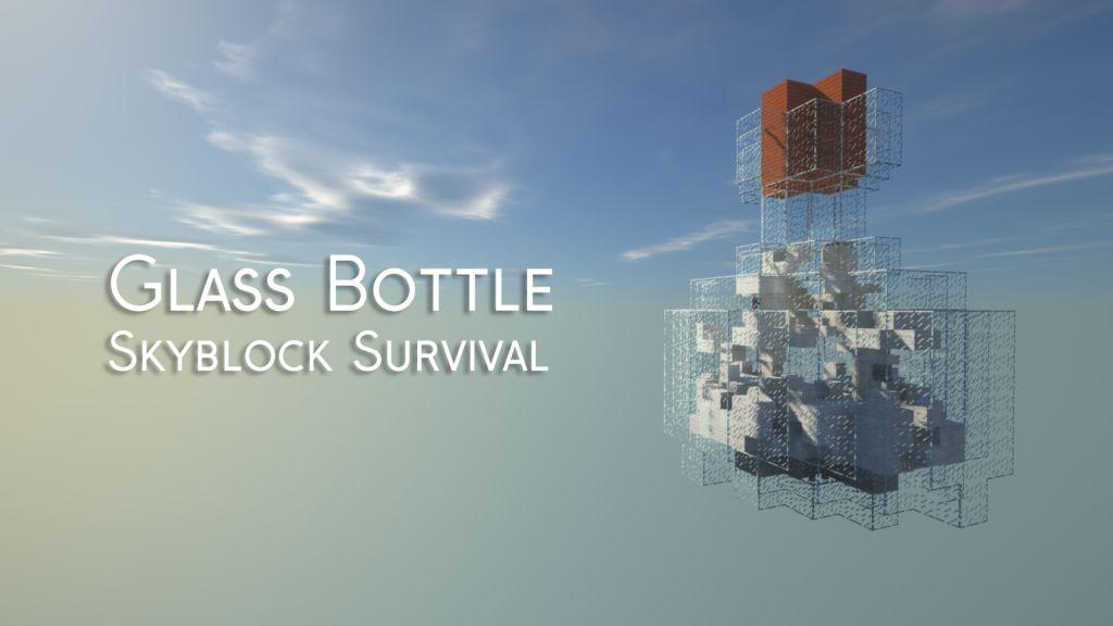 Glass Bottle Skyblock Survival Map Thumbnail