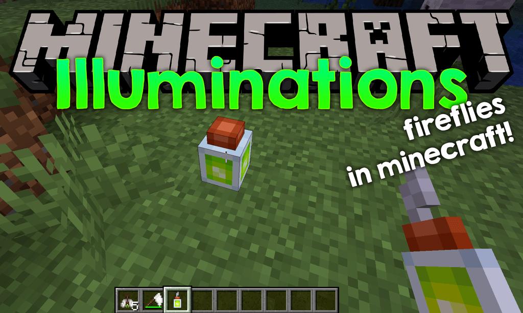 Illuminations mod for minecraft logo