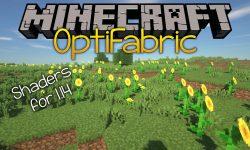 Optifabric mod for minecraft logo