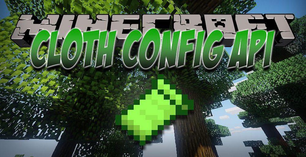Cloth Config API mod for Minecraft logo