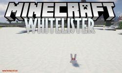Whitelister mod for minecraft logo