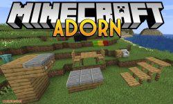 Adorn mod for minecraft logo