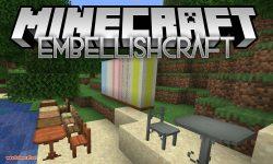 EmbellishCraft mod for minecraft logo