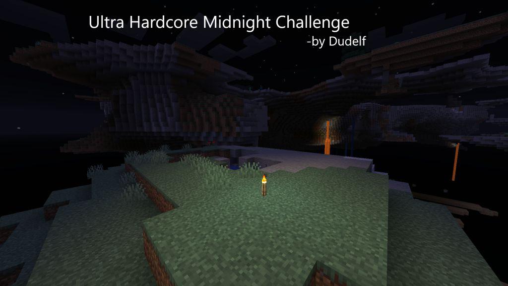 Ultra Hardcore Midnight Challenge Map Thumbnail