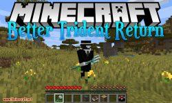 Better Trident Return mod for minecraft logo