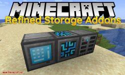 Refined Storage Addons mod for minecraft logo