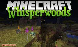 Whisperwoods mod for minecraft logo