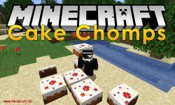 Cake Chomps mod for minecraft logo