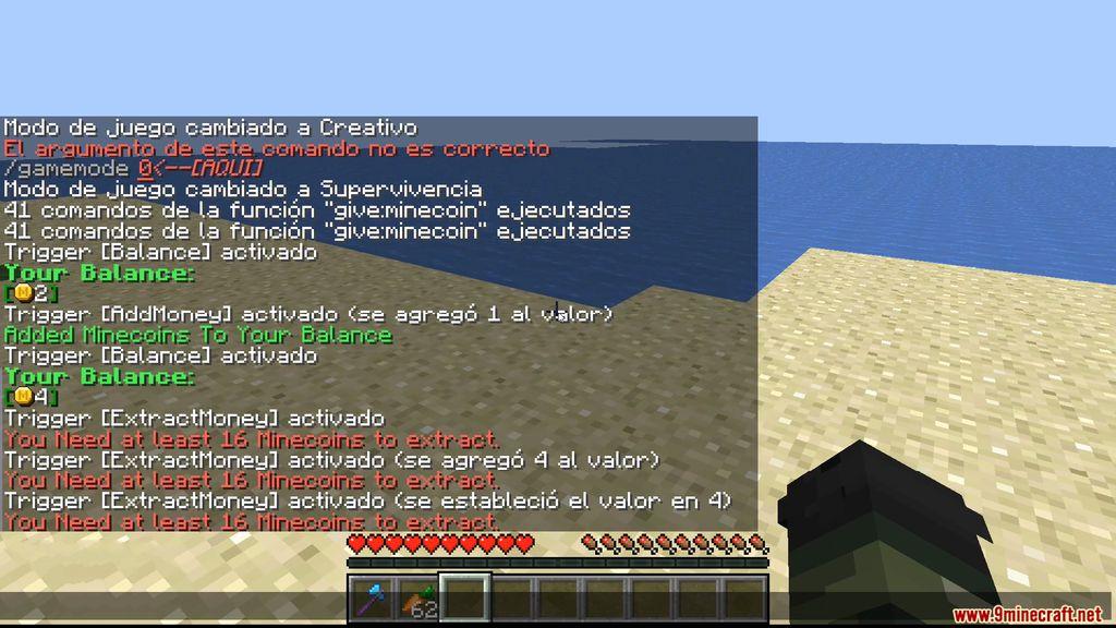 Minecoin Minecraft Data Pack Screenshots (3)