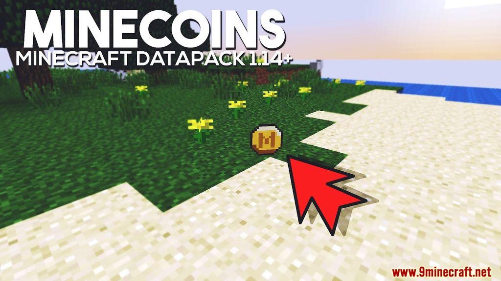 Minecoin Minecraft Data Pack Thumbnail