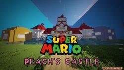 Super Mario Peach's Castle Map Thumbnail