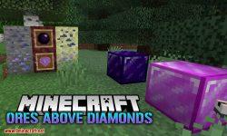 Ores Above Diamonds mod for minecraft logo