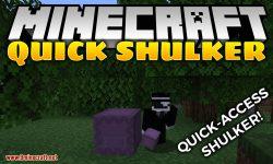 Quick Shulker mod for minecraft logo