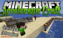 acceleratorcraft mod for minecraft logo