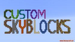 Custom Skyblocks Map Thumbnail