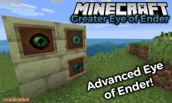 Greater Eye of Ender mod for minecraft logo
