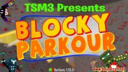 Blocky Parkour Map Thumbnail