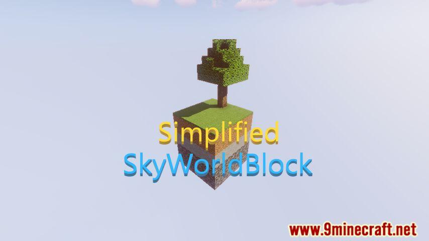 Simplified SkyWorldBlock Map Thumbnail